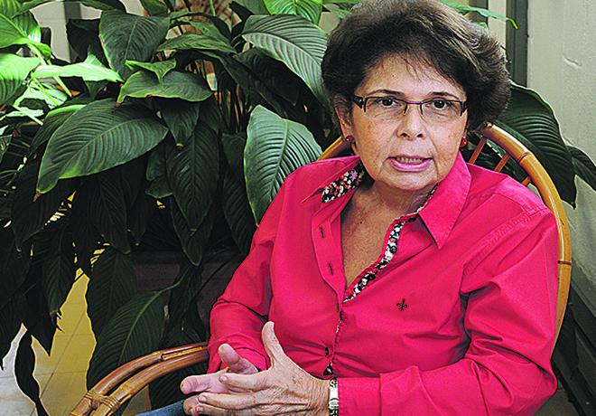 Maria Aparecida Affonso Moysés, professora titular do Departamento de Pediatria da Faculdade de Ciências Médicas (FCM) da Unicamp | Antonio Scarpinetti/Divulgação Unicamp