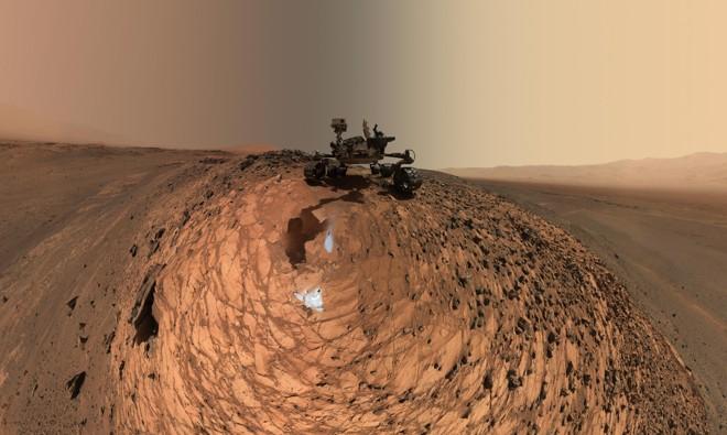 Marte já teve condições de abrigar vida, mas perdeu sua atmosfera e se tornou um deserto gelado   NASA/Divulgação