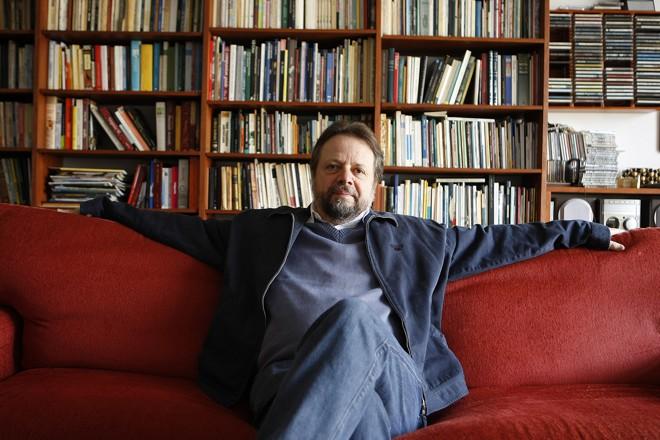 Cristovão Tezza, ex-professor da UFPR e hoje escritor. | Jonathan Campos/Gazeta doPovo