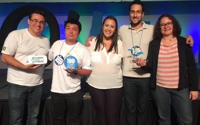 Equipes vencedoras  da edição 2015  do Desafio Paraná de Startups | Agência Fiep/Divulgação