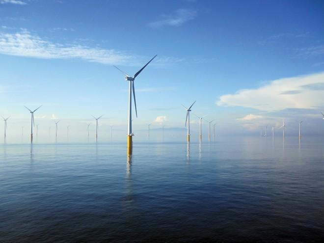 As maiores ofertas de financiamento de ativos entre abril e junho deste ano foram em energia eólica offshore na Europa.   London Array/Divulgação