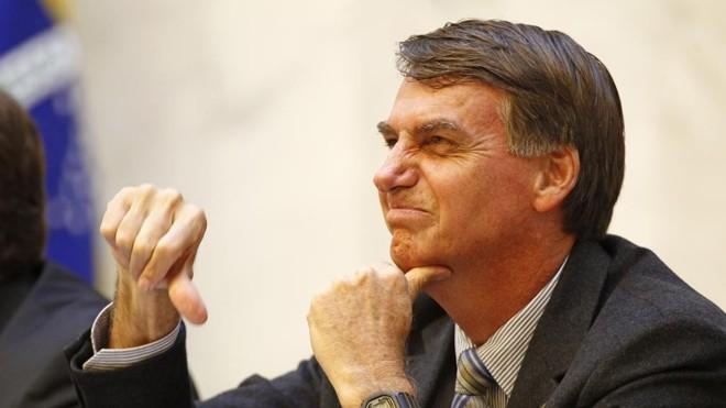 O deputado  federal Jair Bolsonaro: ascensão às custas do efeito Dunning-Kruger | Antonio More/Gazeta do Povo