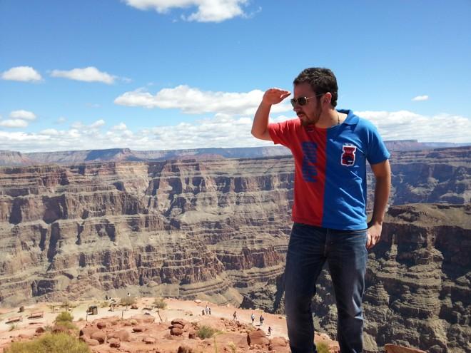 Grand Canyon, no Arizona, EUA. |