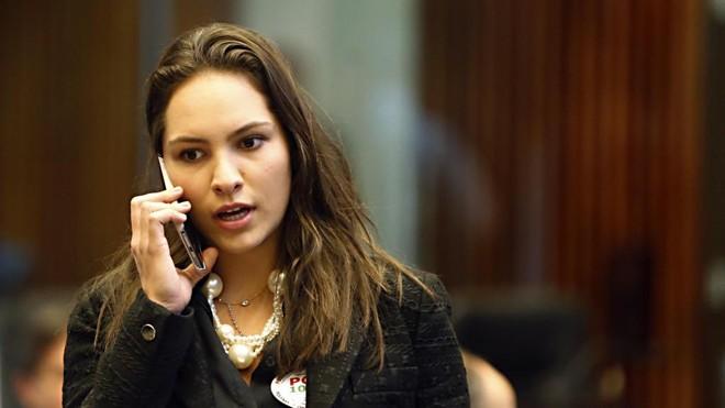 Maria Victória  é filha do ministro da Saúde, Ricardo Barros (PP) e da vice-governadora Cida Borghetti (Pros).   Albari Rosa/Gazeta do Povo