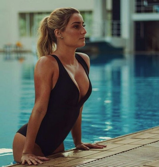 Lorena Molinos, atleta do nado sincronizado | /Reproduçao Instagram