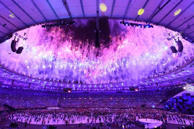 Rio abriu os Jogos Olímpicos de forma apoteótica   KIRILL KUDRYAVTSEV/AFP