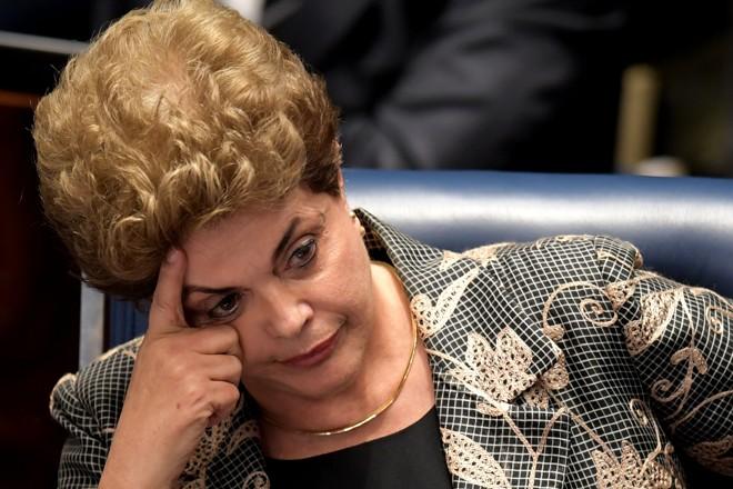 Dilma Rousseff, primeira mulher eleita presidente, foi cassada nesta quarta-feira (31). | Evaristo Sá/AFP