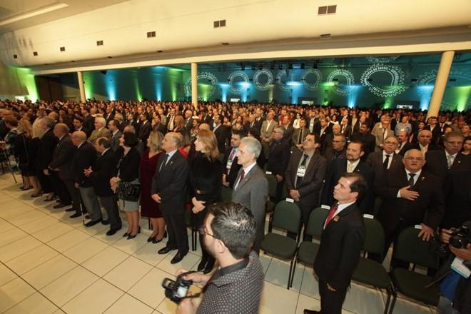 Evento tem como anfitrião o Paraná, que congrega aproximadamente 70 mil profissionais registrados no Conselho Regional de Engenharia e Agronomia (Crea-PR) | Divulgação/