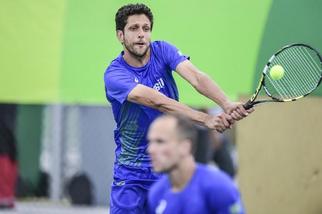 Melo está confiante na vitória contra a dupla sérvia na Olimpíada   Wander Roberto/Exemplus/COB