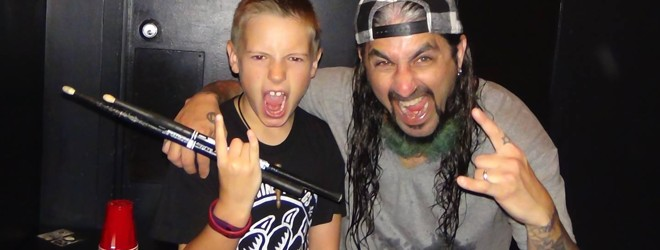Avery Molek e Mike Portnoy | Reprodução Facebook