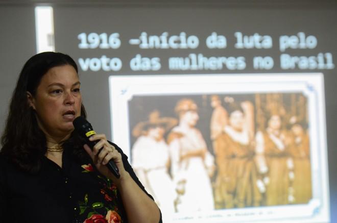 Adriana Vale Mota, pesquisadora do Instituto Brasileiro de Administração Pública (Ibam) | Rovena Rosa/Agência Brasil