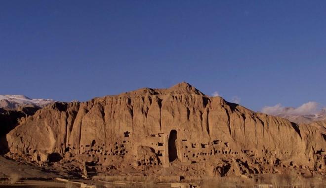 Os budas gigantes de Bamiyan, no Afeganistão, destruídos pelo Talibã | PA/CP/PETER ANDREWS