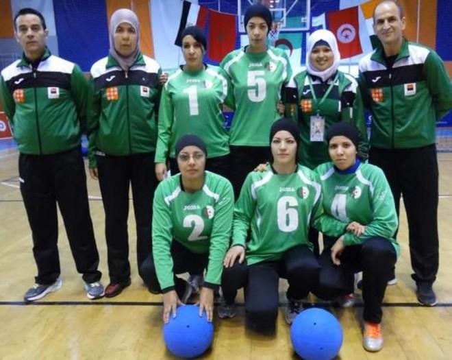 Equipe da Argélia de goalball chegou ao Rio com seis dias de atraso. | NPC Algeria/