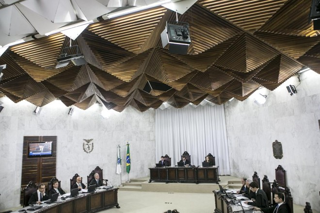O pleno do Tribunal de Contas do Estado do Paraná | Marcelo Andrade/Gazeta do Povo