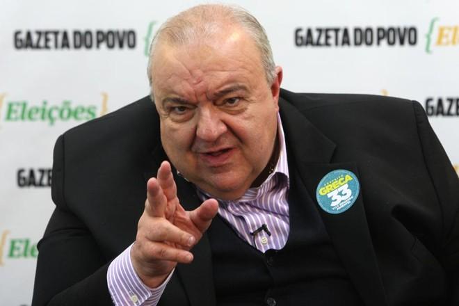Candidato foi multado por divulgação irregular de pesquisa eleitoral. | Aniele Nascimento/Gazeta do Povo