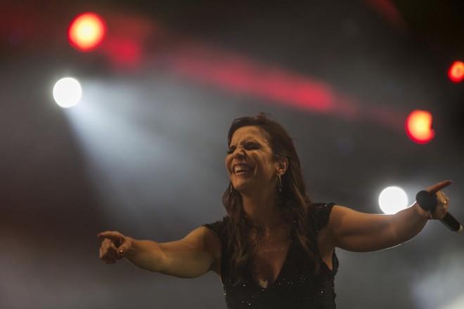 Cantora Ivete Sangalo estará  no Maracanã no dia 18 de setembro. | Marcelo Andrade/Gazeta do Povo/