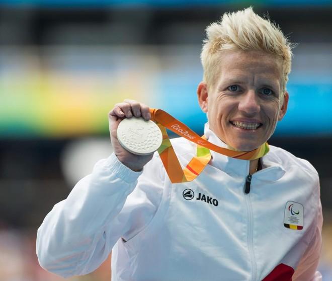 Portadora de duas doenças degenerativas, paratleta Mariek Vervoort tem autorização para eutanásia. | AL TIELEMANS FOR OIS/IOC/AFP