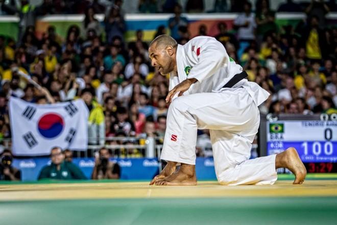 Tenório na sua última luta na carreira. Seis medalhas em paralimpíadas, | Marcio Rodrigues/MPIX/CPB/
