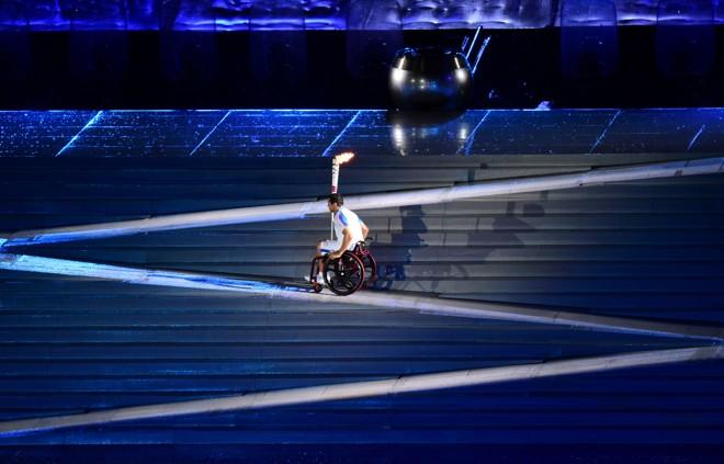 Abertura da Paralimpíada aconteceu na quarta-feira. | TASSO MARCELO/AFP