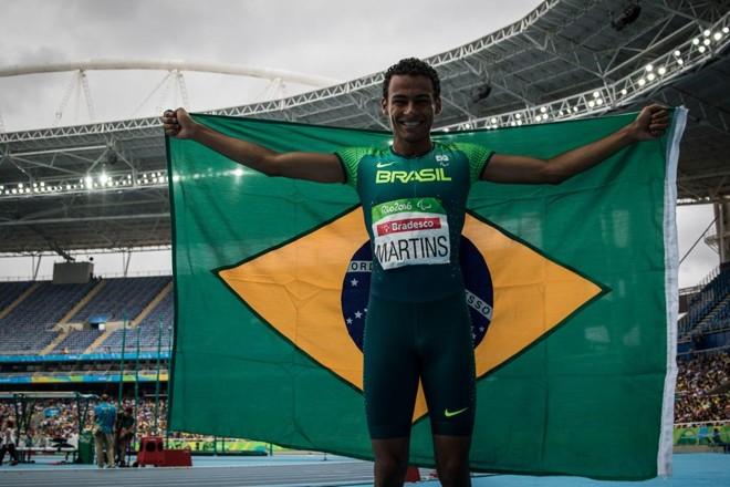 Daniel Martins conquistou o ouro paralímpico nos 400m T20. | Daniel Zappe/MPIX/CPB