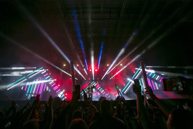 A empresa AudioMix é um dos alvos da operação. Ela gerencia a carreira de artistas como Wesley Safadão, Jorge e Mateus, Guilherme e Santiago, Israel Novaes e outros. | Marcelo Andrade/Gazeta do Povo