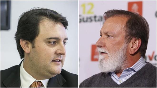 Ratinho Jr. (PSD) e Osmar Dias (PDT) surgem como principais oponentes ao governo do Paraná em 2016. | Gazeta do Povo/