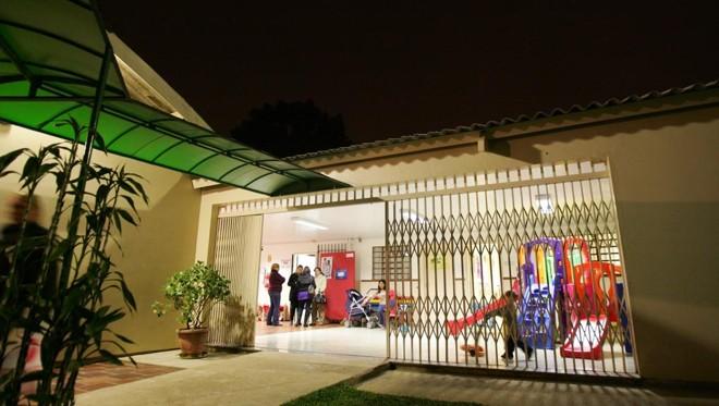 Na foto, CMEI Pimpão na Vila São Jorge, que ofereceu serviço noturno até 2014   Daniel Castellano/Gazeta do Povo