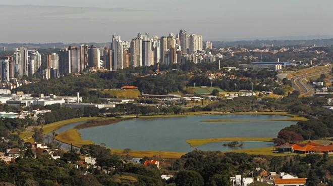 OParque Barigui, em Curitiba | Antônio More/Gazeta do Povo