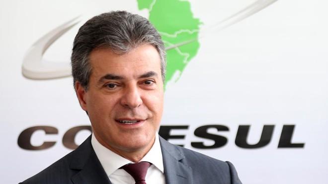 Beto Richa (PSDB) participou nesta segunda-feira (31) da reunião do Conselho de Desenvolvimento e Integração Sul (Codesul). | Orlando Kissner/ANPr