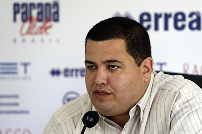 Presidente paranista Leonardo Oliveira. | Albari Rosa/Gazeta do Povo