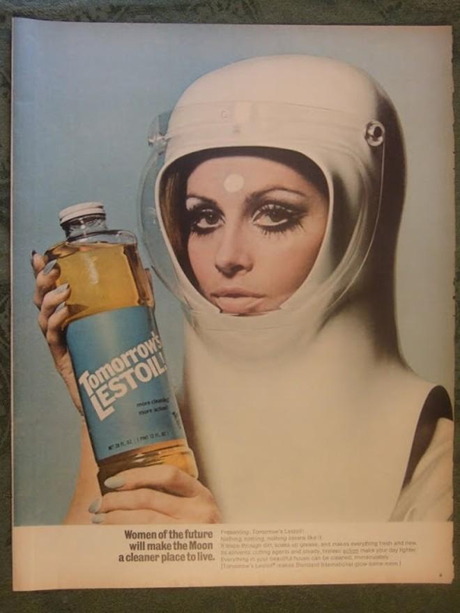 O anúncio de 1968, que serviu como fonte em questão do Enem 2016. | Reprodução