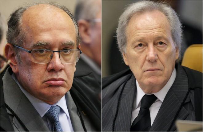 Gilmar Mendes (à esq.) e Ricardo Lewandowski | Divulgação/STF