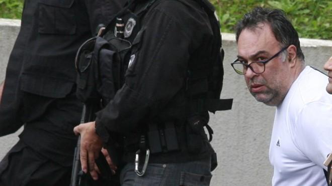 André Vargas deixa a superintendência da PF, em Curitiba   Aniele Nascimento/Gazeta do Povo/Arquivo