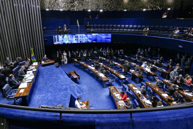 O Plenário do Senado Federal | Roque de Sá/Agência Senado