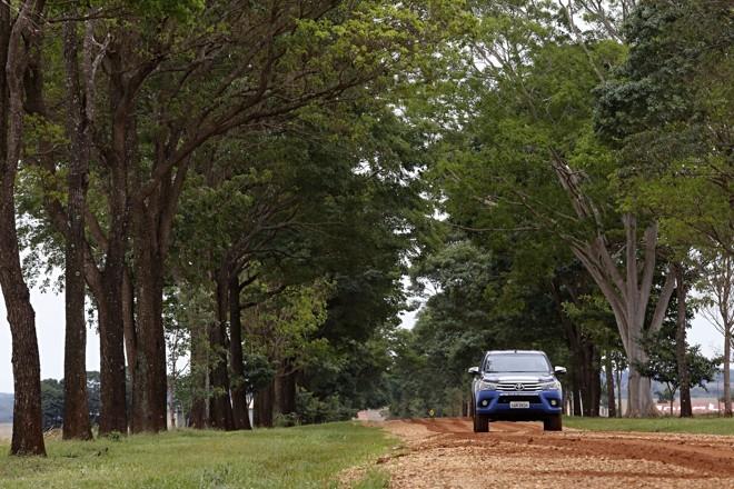 A equipe da Expedição Safra que percorre o Centro-Oeste se despediu do Mato Grosso e agora está em Goiás. A cobertura completa do estado você confere na próxima semana.   Felipe Rosa /Gazeta do Povo