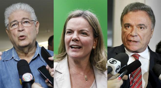 Requião, Gleisi e Alvaro: propostas que passaram a ser mais discutidas por causa da Lava Jato.   /