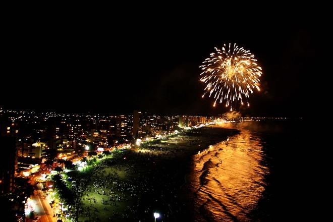 Ano-novo em Caiobá: balneário terá queima de fogos na virada | Giuliano Gomer/Gazeta do Povo