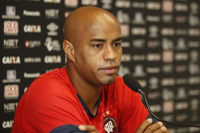 ThiagoHeleno foi o principal destaque do Atlético no Brasileirão.   Aniele Nascimento/Gazeta do Povo