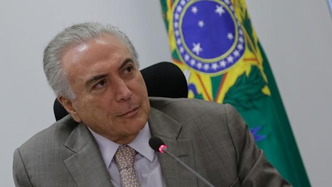 Em quase sete meses na Presidência, MichelTemer fará estreia no Nordeste.   Marcos Corrêa/PR