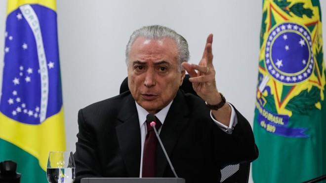 Presidente MichelTemer foi citado em delação de executivo da Odebrecht. | Marcos Corrêa/PR