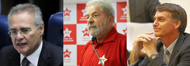 | Edilson Rodrigues/Agência Senado/Ricardo Stuckert/Instituto Lula/Antônio More/Gazeta do Povo
