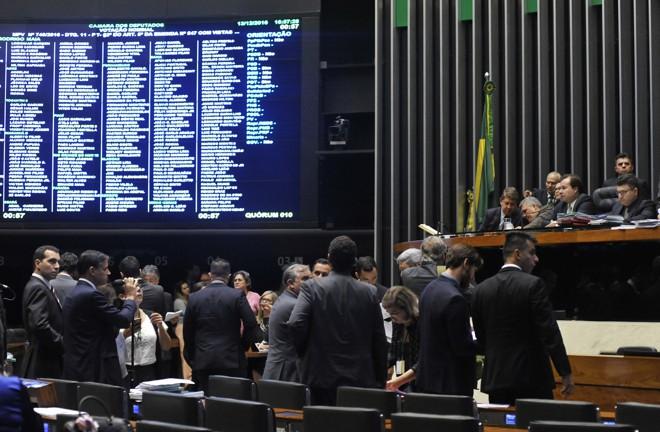 Votação da reforma do ensino médio na Câmara dos Deputados | Luis Macedo/Câmara dos Deputados