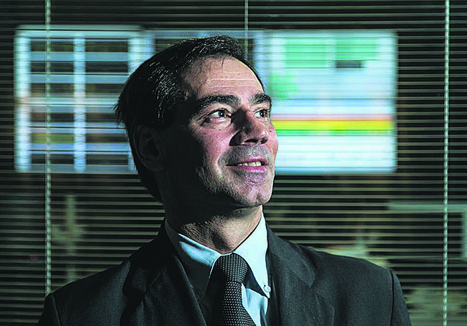 Paulo Gouvea, da Horizon Telecom: serviço combinado de voz e internet foi feito pensando nas pequenas e médias empresas   Marcelo Andrade/Gazeta do Povo