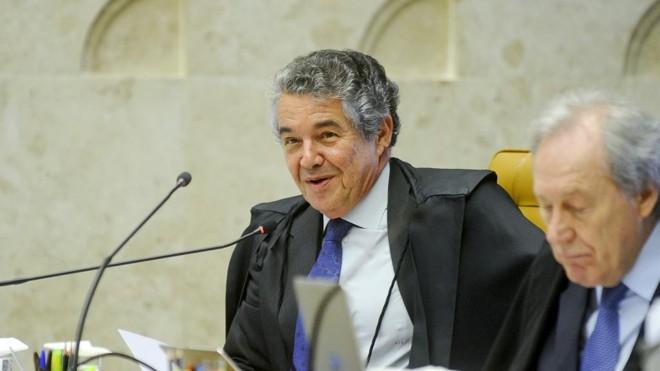 Ministro Marco Aurélio Mello deferiu liminar para afastar Renan Calheiros da Presidência do Senado. | Marcos Oliveira/Agência Senado