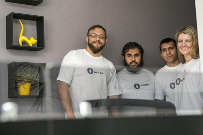 O projeto de Wilson foi desenvolvido por Daniel Skroski, André Luis Ribeiro,Marquistei Medeiros e Ana Paula Weigert | Marcelo Andrade/Gazeta do Povo