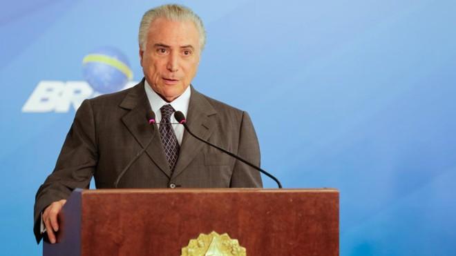 Presidente Michel Temer:agora na mira dos pedidos por renúncia | Marcos Correa/PR