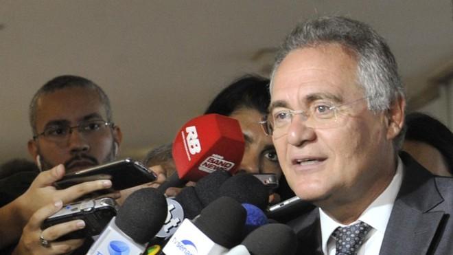Presidente do Senado,Renan Calheiros, foi denunciado pelo Ministério Público Federal no âmbito da Lava Jato. | Jane de Araújo/Agência Senado