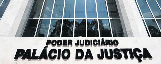 Fachada do TJ: novos valores propostos valerão a partir de janeiro do ano que vem. | Albari Rosa/Gazeta do Povo