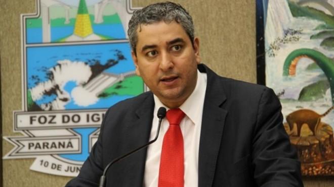 Presidente da Câmara Municipal de Foz do Iguaçu, Fernando Duso (PT), foi preso. | Divulgação/Câmara de Foz