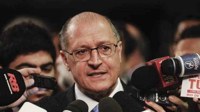 Geraldo Alckmin (PSDB-SP) foi citado em delação da Odebrecht. | Marcos Oliveira/Agência Senado